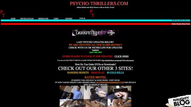 Psycho-Thrillers.com - SITERIP