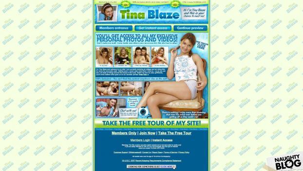 TinaBlaze.com - SITERIP