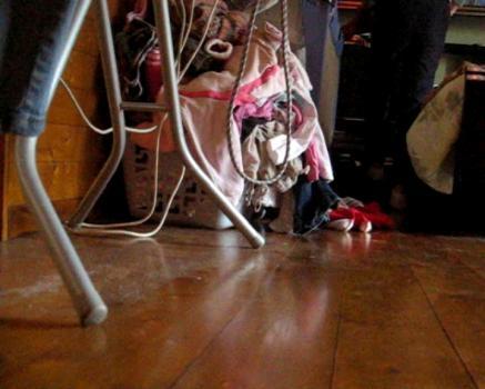 From The Floor Hidden Cam Clip