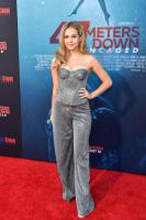 """Brec Bassinger - the Premiere of """"47 Meters Down Uncaged"""" 8/13/19"""
