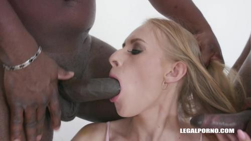 Nikki Riddle gets two black cocks in the ass IV325 [HD 720P]