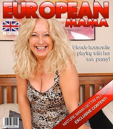 Mature - Caresse (EU) (52) - Hot British housewife enjoys her dildo