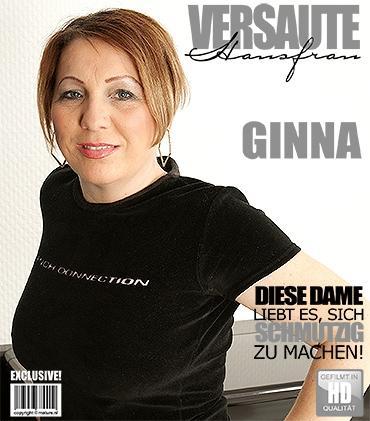 Mature - Ginna (38) - Geile Hausfrau fingert sich selbst