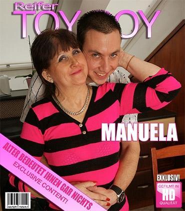 Mature - Manuela K. (59) - Diese Mama liebt es, sich schmutzig zu machen
