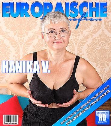 Mature - Hanika V. (55) - Naughty mature slut teasing herself with her toy