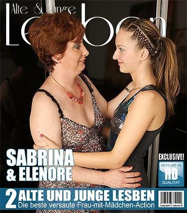 Mature - Belinda G. (45), Elenore (21) - Heißes Babe hat Spaß einer frechen reifen Lesbe