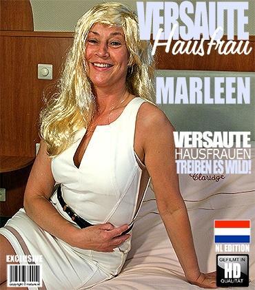 Mature - Marleen W. (48) - Niederländisch Hausfrau fingert sich selbst