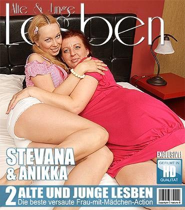 Mature - Anikka (22), Stevana (40) - Halte deine Augen für diese alten und jungen Lesben offen, die es lieben, ihre Muschis zu schmecken!