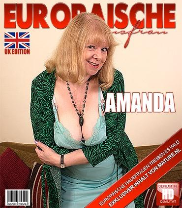 Mature - Amanda Degas (EU) (58) - Britische kurvige Dame spielt mit ihren Spielzeugen