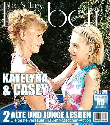 Mature - Casey (21), Katelyna (53) - Heißes Babe hat Sex mit einer schmutzigen alten Lesbe