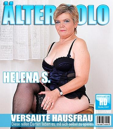 Mature - Helena S. (52) - Naughty housewife playing with her toy