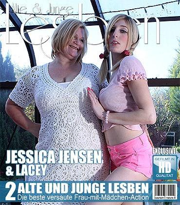 Mature - Jessica Jensen (22), Lacey Starr (EU) (54) - Britische Reife Lesbe hat Sex mit einer heißen jungen Babe