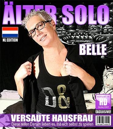 Mature - Belle (45) - Niederländisch Hausfrau spielt mit sich selbst