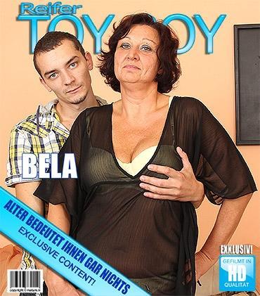 Mature - Bela (49) - Ältere Mama macht sich schmutzig