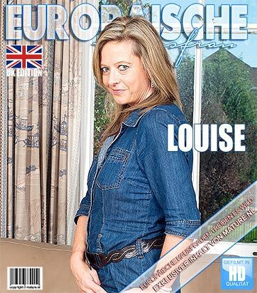 Mature - Louise (EU) (47) - Britische Hausfrau fingert sich selbst