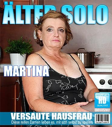 Mature - Martina K. (54) - Naughty mature lady playing in the kitchen