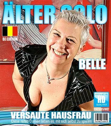 Mature - Belle (46) - Belgische Hausfrau spielt mit sich selbst