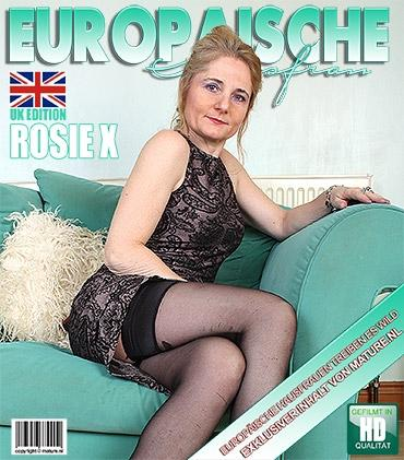 Mature - Rosie X. (EU) (45) - Britische Hausfrau geht wild