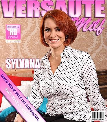 Mature - Sylvana C. (36) - Heiße MILF spielt mit sich selbst