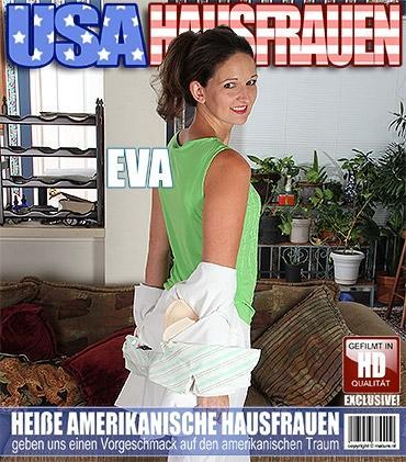Mature - Eva C. (33) - Amerikanisch Heiße Hausfrau spielt mit sich selbst