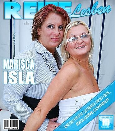 Mature - Isla (37), Marisca (39) - Diese Lesben treiben es wild