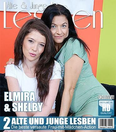 Mature - Elmira (48), Shelby (21) - Alte und junge Lesben haben großen Spaß miteinander