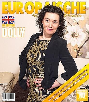 Mature - Dolly (EU) (37) - Britische Geile Hausfrau fingert sich selbst