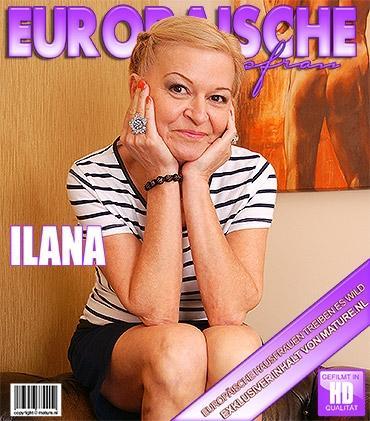 Mature - Ilana O. (51) - Frische Ältere Dame fummelt herum
