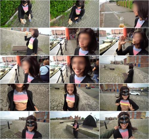 Cum Walk And Piss Drinking In Public [FullHD 1080P]