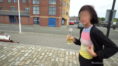 Cum Walk And Piss Drinking In Public [FullHD 1080P]