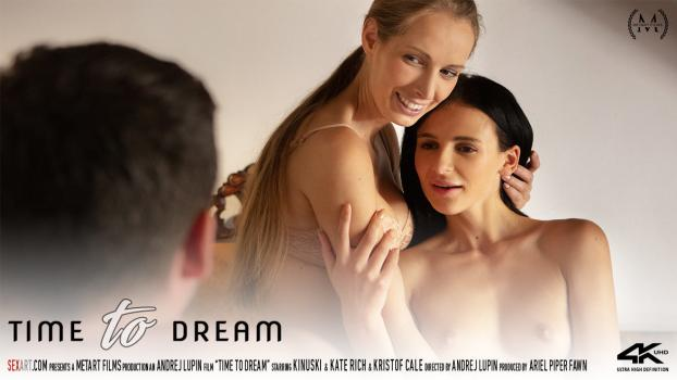 SexArt 19 08 07 Kate Rich And Kinuski Time To Dream XXX 1080p MP4-KTR