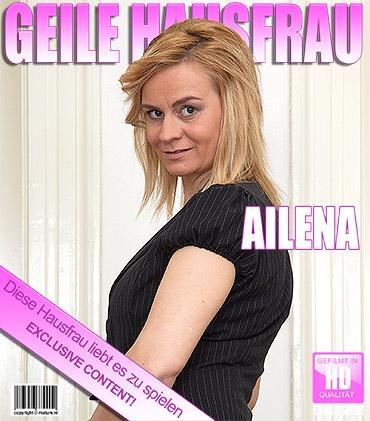 Mature - Ailena (37) - Heiße mama spielt mit sich selbst