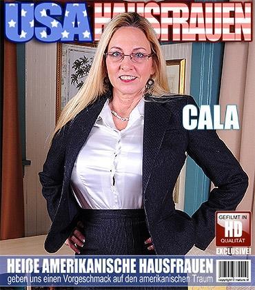 Mature - Cala Craves (59) - Amerikanisch Heiße Hausfrau strippt und fühlt sich frech