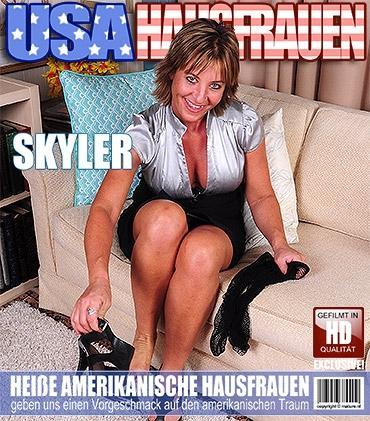 Mature - Skyler Haven (44) - Amerikanisch Hausfrau geht wild  Mature.nl