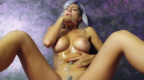 Una Alexandar - Face Fucking & Belly Button Masturbate [FullHD 1080P]