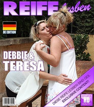 Mature - Debbie D. (39), Teresa Lynn (EU) (42) - Deutsche Lesbische Hausfrauen fummelt herum