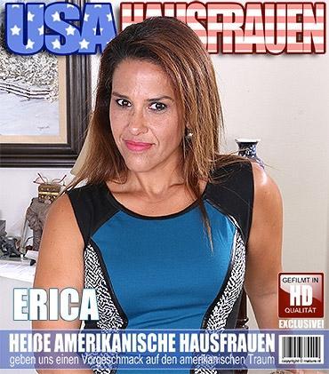 Mature - Erica C. (44) - Amerikanisch Hausfrau fummelt herum