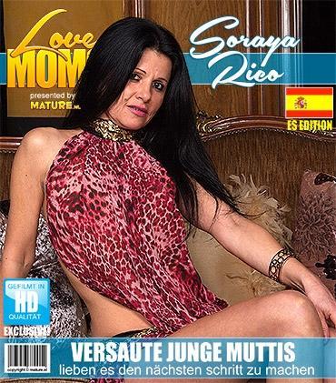 Mature - Soraya Rico (38) - Spanisch Versaute mama fingert sich selbst