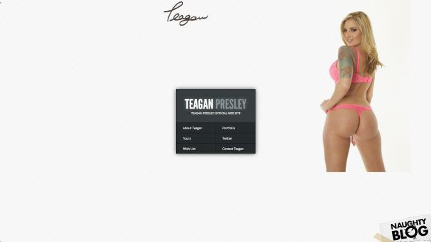 TeaganPresley.com - SITERIP