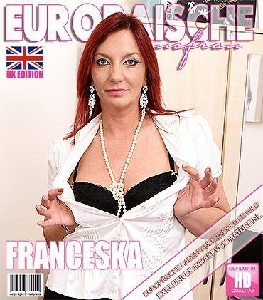 Mature - Francesca (EU) (37) - Britische Hausfrau geht wild