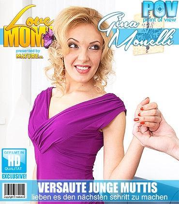 Mature - Gina Monelli (34) - Geile mama fickt in POV Style