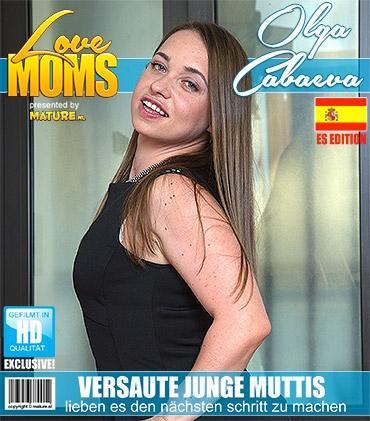 Mature - Olga Cabaeva (34) - Spanisch Heiße mama fingert sich selbst