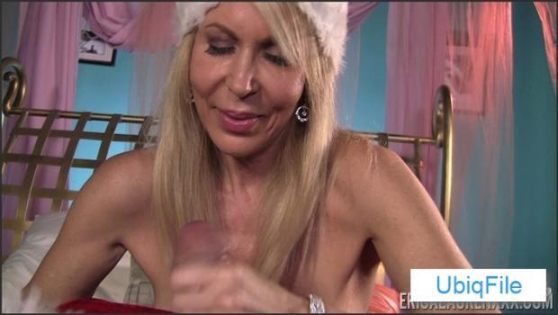 Erica Lauren in Santa's Little Hand Job Helper