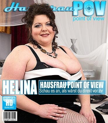 Mature - Helina K. (41) - Vollbusige BBW fickt in POV Style