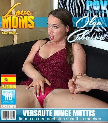 Mature - Olga Cabaeva (34) - Spanisch Freche mama fickt in POV Style