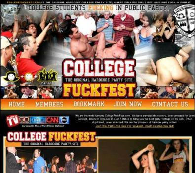 CollegeFuckFest (SiteRip) Image Cover