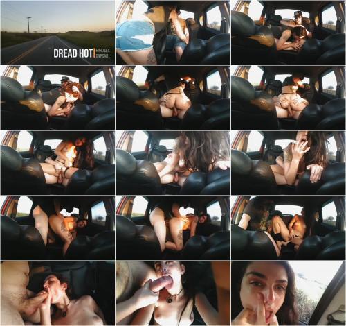 Dread Hot - Sexo Selvagem no Carro com Facial Minha Primeira Sex Tape - Dread Hot [FullHD 1080P]