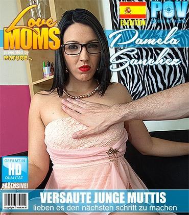 Mature - Pamela Sanchez (EU) (30) - Spanisch Geile mama fickt in POV Style