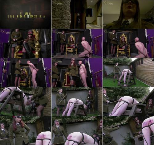 Mistress Serena, Mistress Krush - a Judicial Caning [FullHD 1080P]