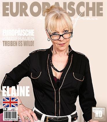 Mature - Elaine (EU) (59) - Britische Hausfrau fingert sich selbst